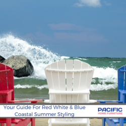 Your Guide For A Red White And Blue Coastal Summer